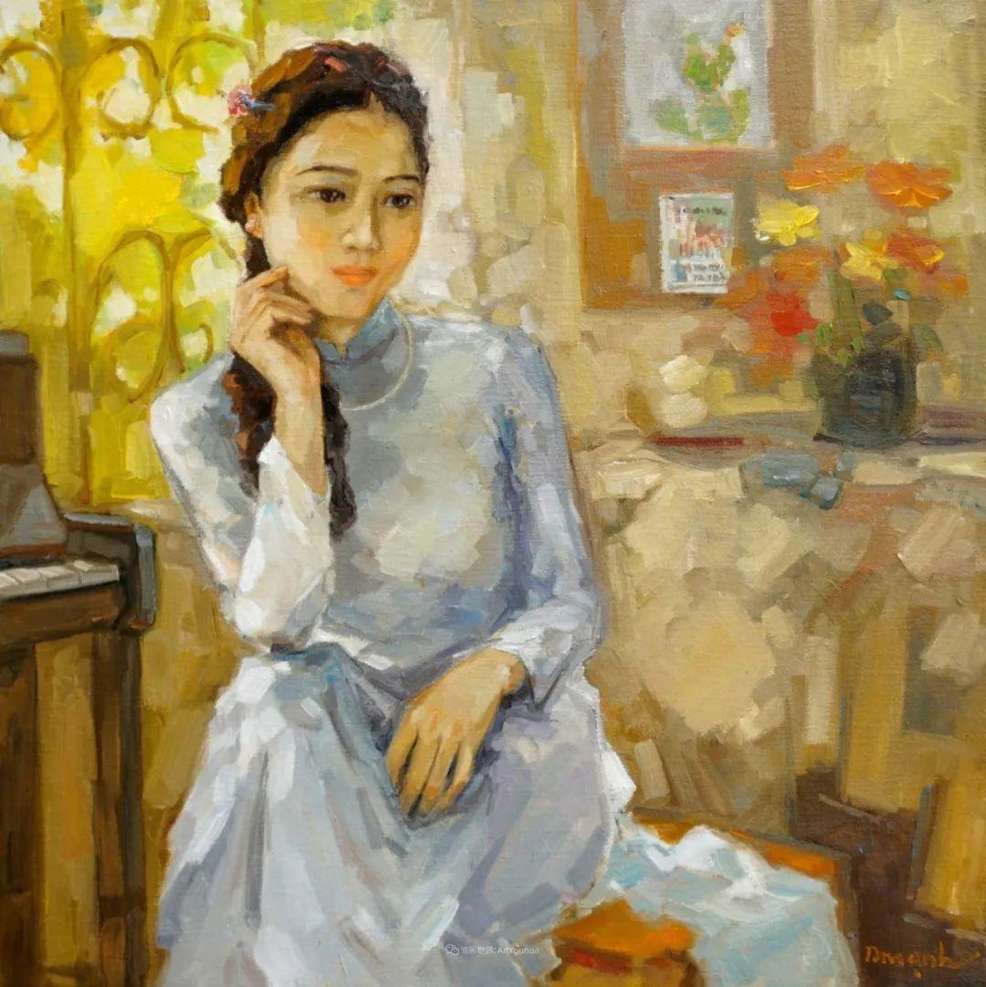 越南画家笔下的美景、美人!插图13