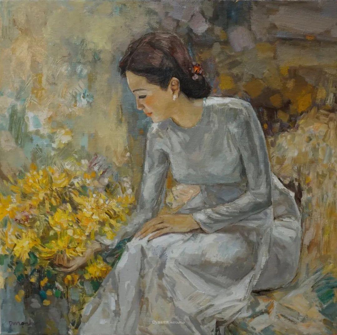 越南画家笔下的美景、美人!插图14