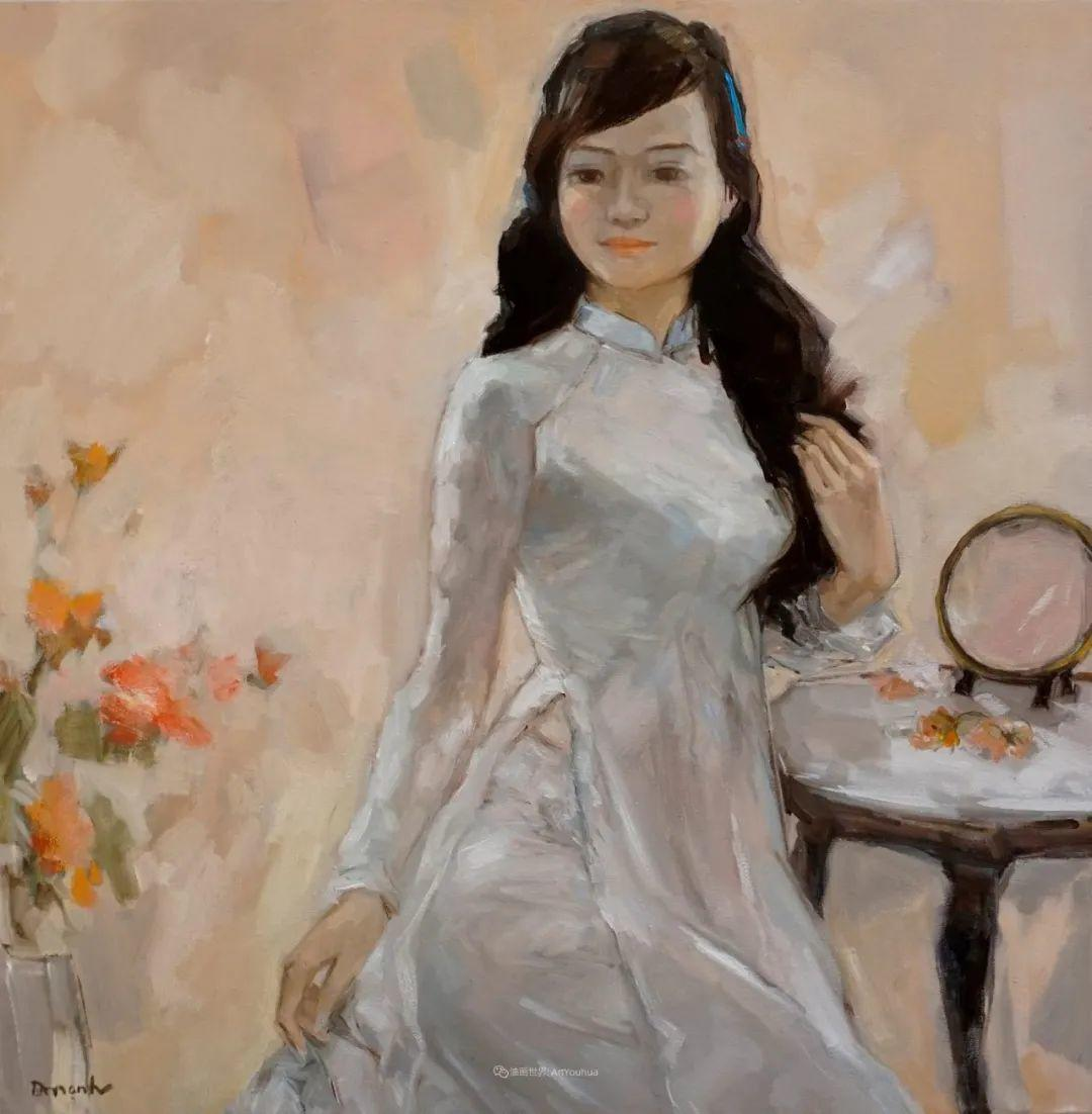 越南画家笔下的美景、美人!插图15