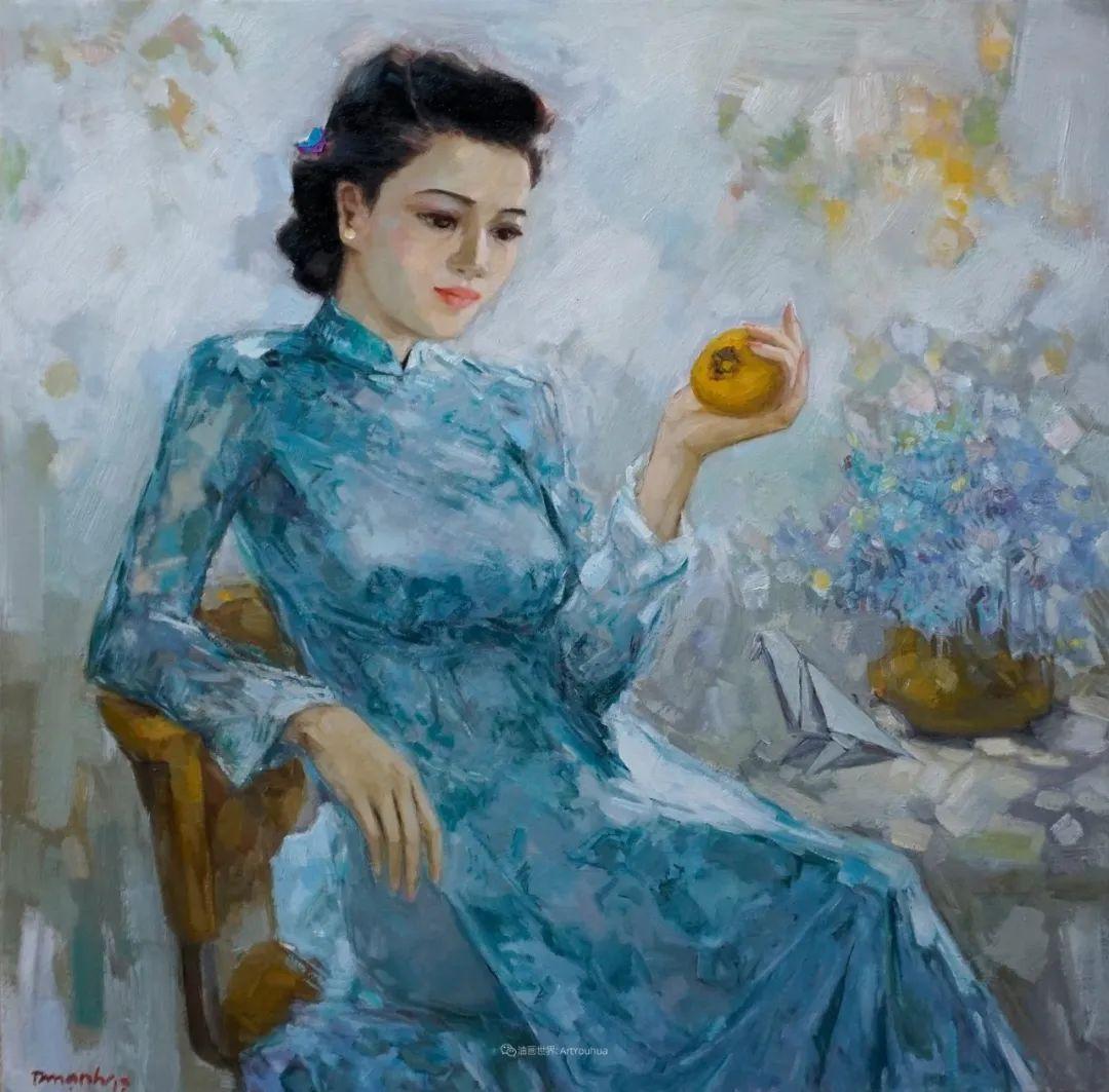 越南画家笔下的美景、美人!插图16