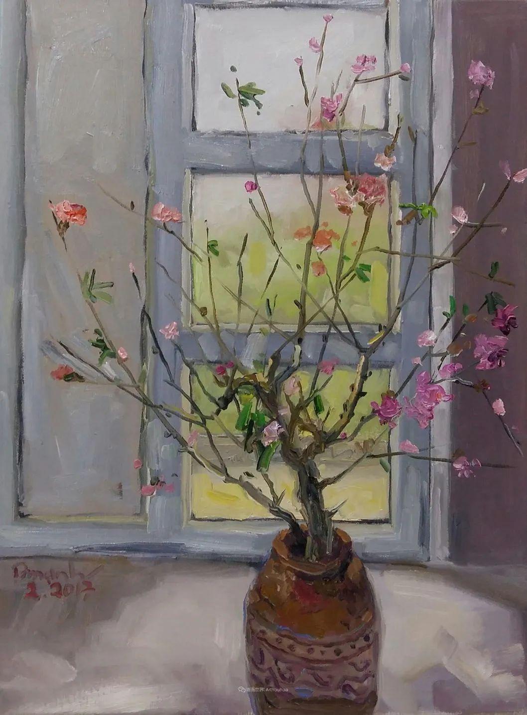 越南画家笔下的美景、美人!插图37