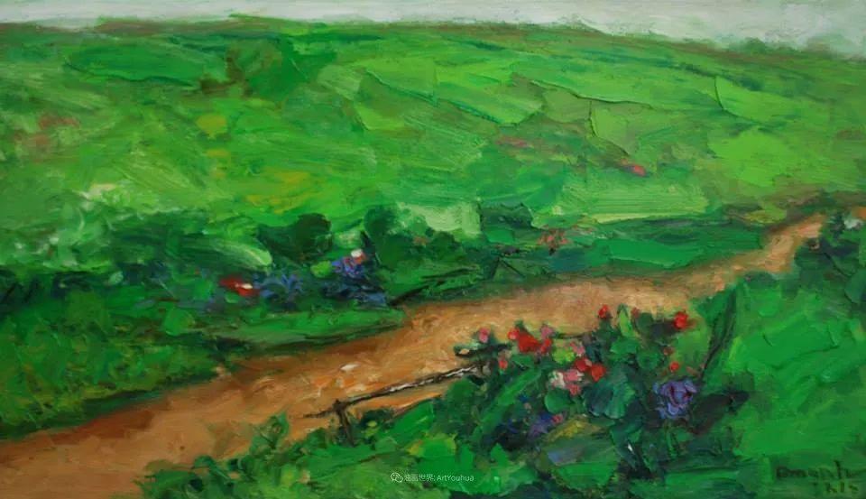 越南画家笔下的美景、美人!插图45