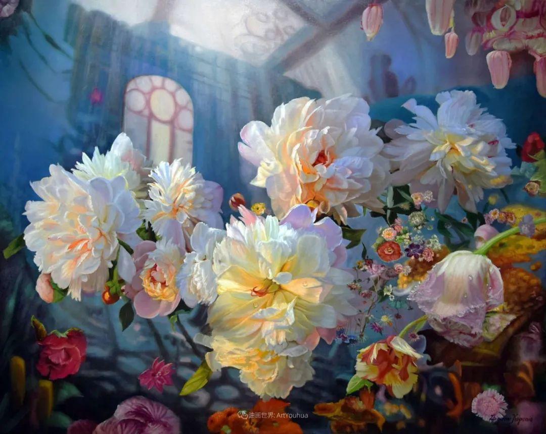 他笔下的花卉、风景,美得不要不要!插图1