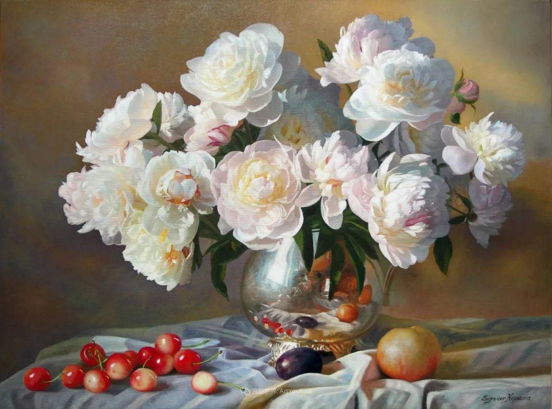 他笔下的花卉、风景,美得不要不要!插图3