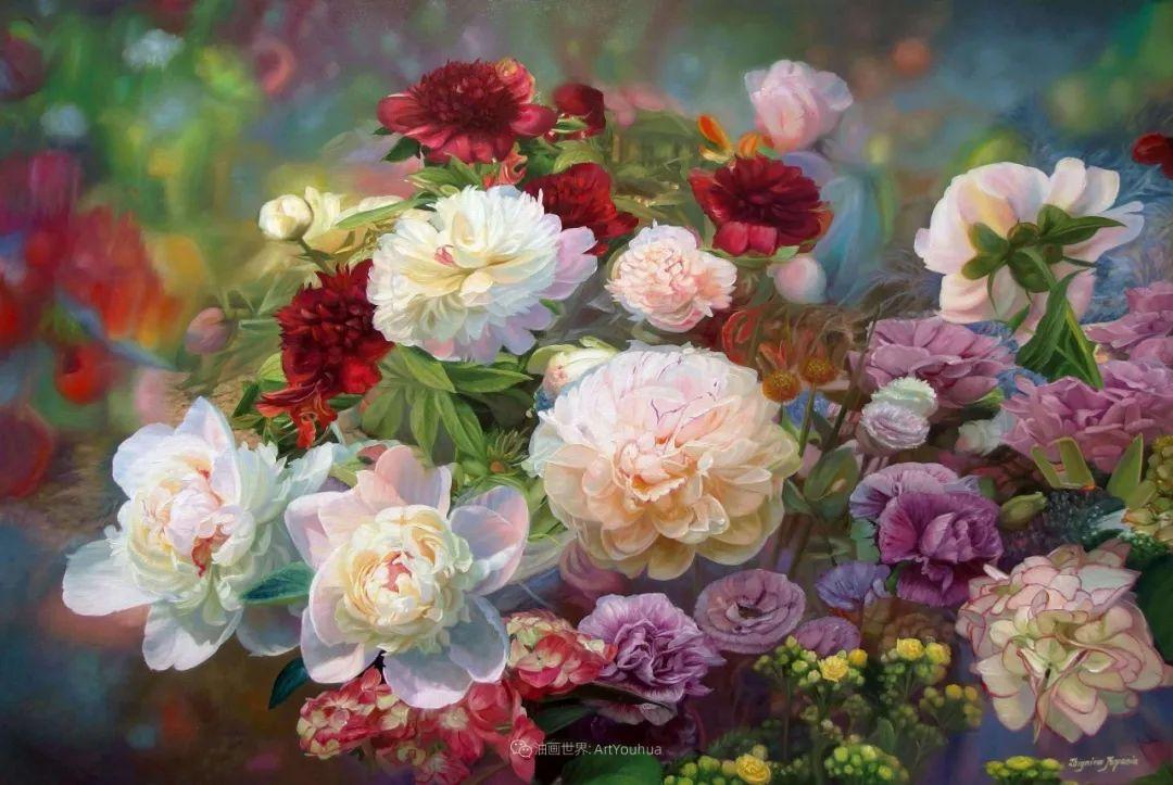 他笔下的花卉、风景,美得不要不要!插图7