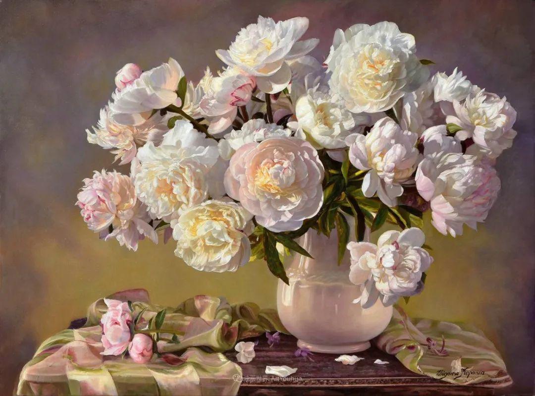 他笔下的花卉、风景,美得不要不要!插图21