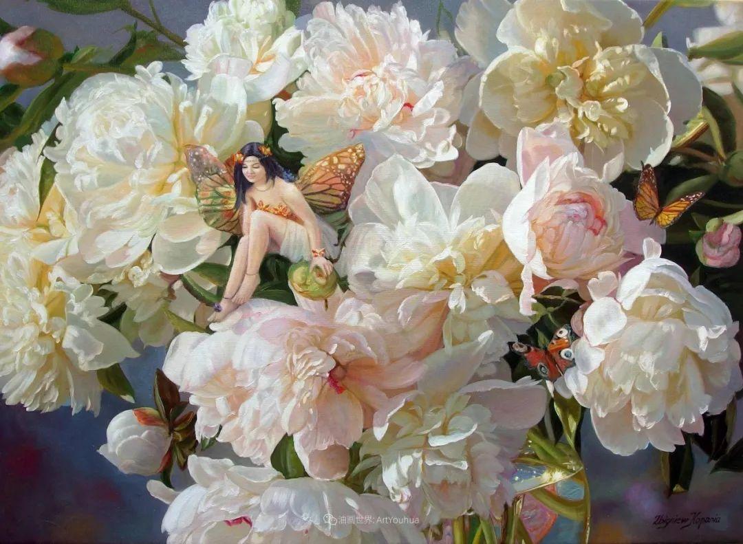 他笔下的花卉、风景,美得不要不要!插图23
