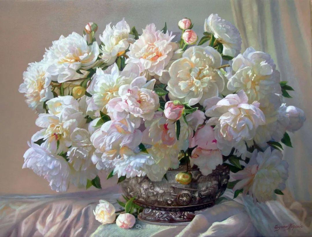 他笔下的花卉、风景,美得不要不要!插图25