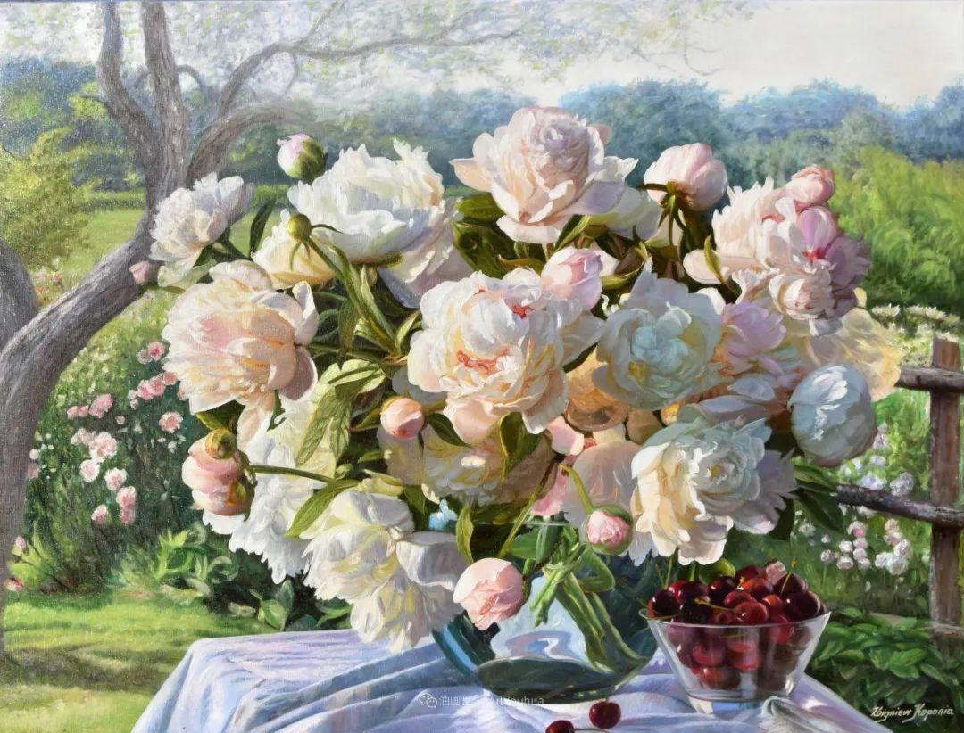 他笔下的花卉、风景,美得不要不要!插图27