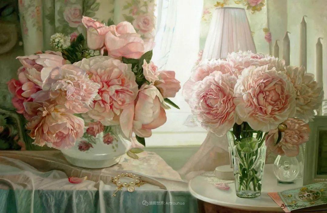 他笔下的花卉、风景,美得不要不要!插图29