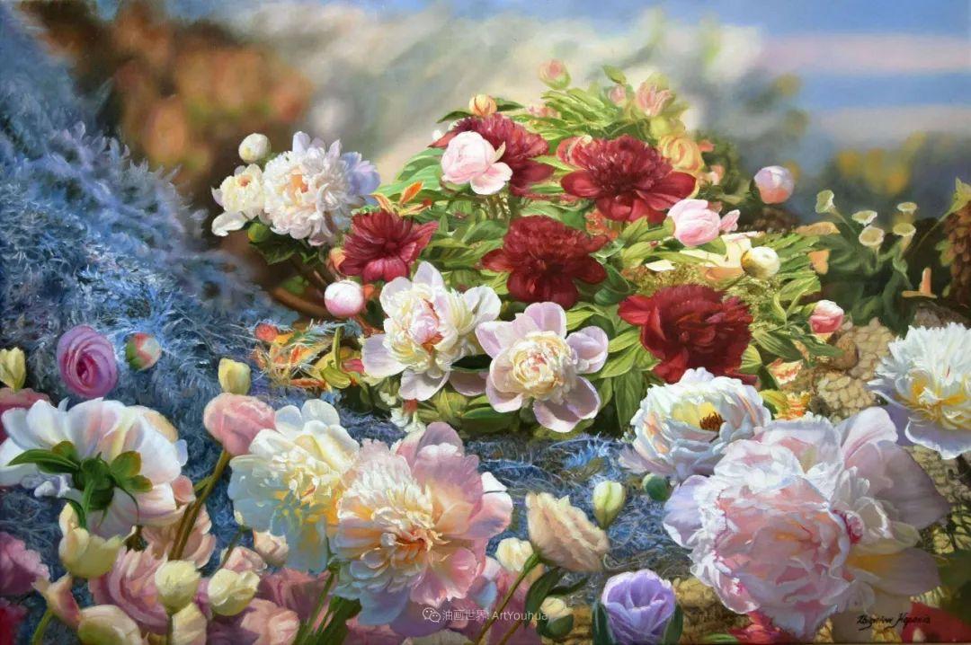 他笔下的花卉、风景,美得不要不要!插图37