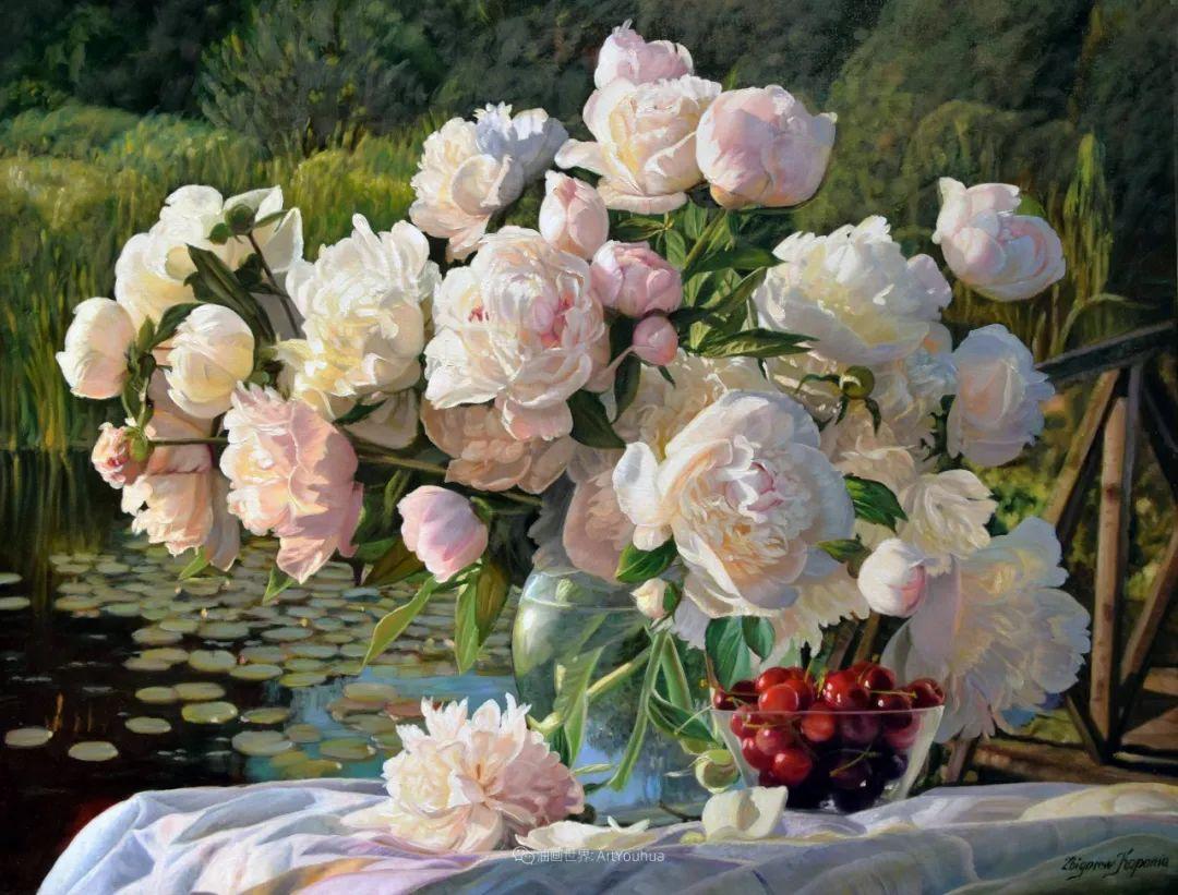他笔下的花卉、风景,美得不要不要!插图41