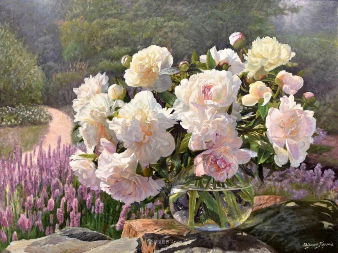 他笔下的花卉、风景,美得不要不要!插图43