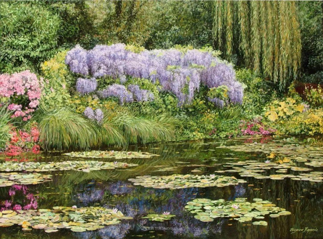 他笔下的花卉、风景,美得不要不要!插图125