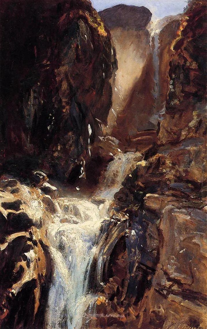 萨金特风景、人物、静物作品精选 117幅插图19