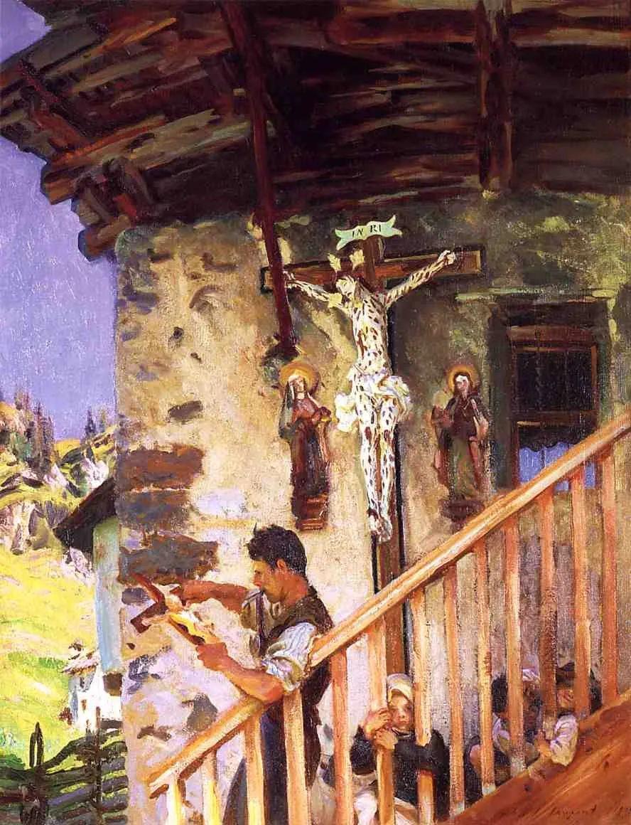 萨金特风景、人物、静物作品精选 117幅插图95