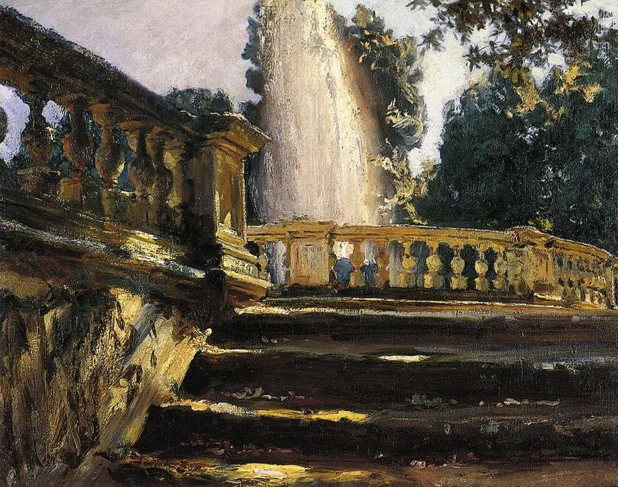 萨金特风景、人物、静物作品精选 117幅插图107