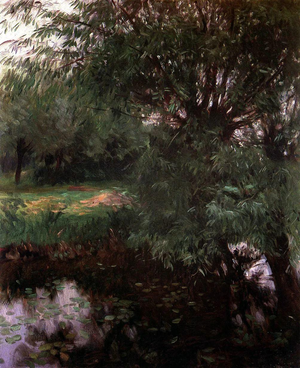 萨金特风景、人物、静物作品精选 117幅插图127