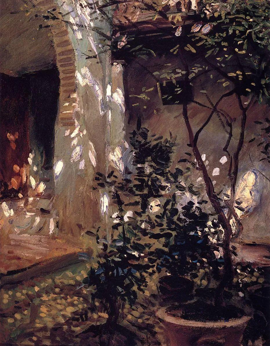 萨金特风景、人物、静物作品精选 117幅插图137