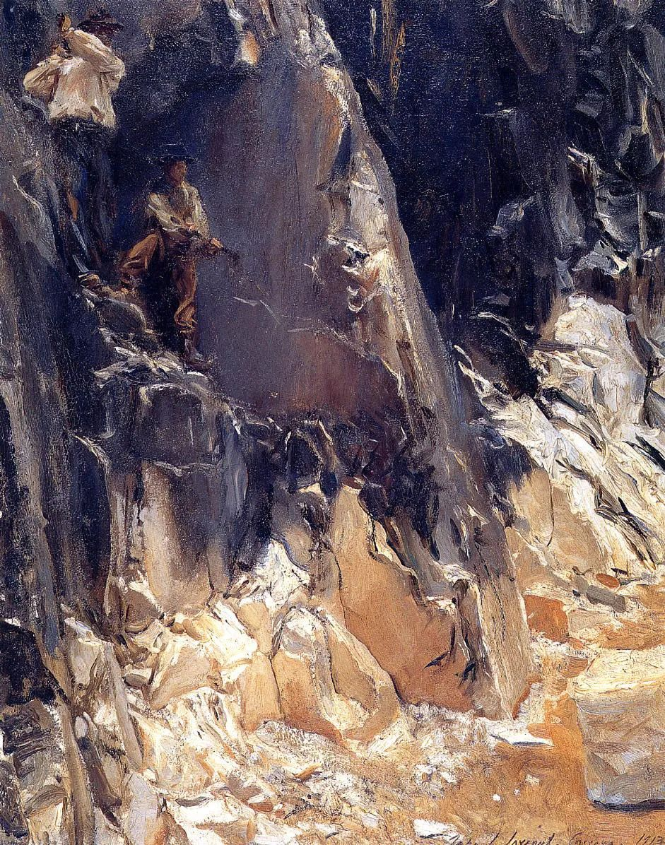 萨金特风景、人物、静物作品精选 117幅插图139
