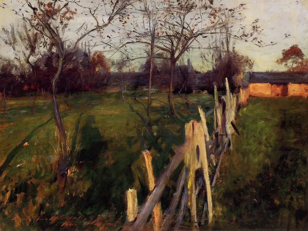 萨金特风景、人物、静物作品精选 117幅插图147