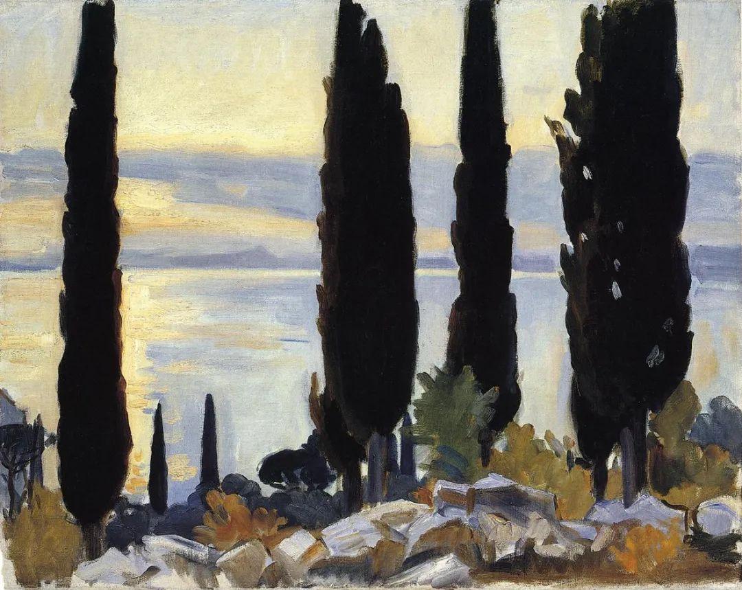 萨金特风景、人物、静物作品精选 117幅插图149
