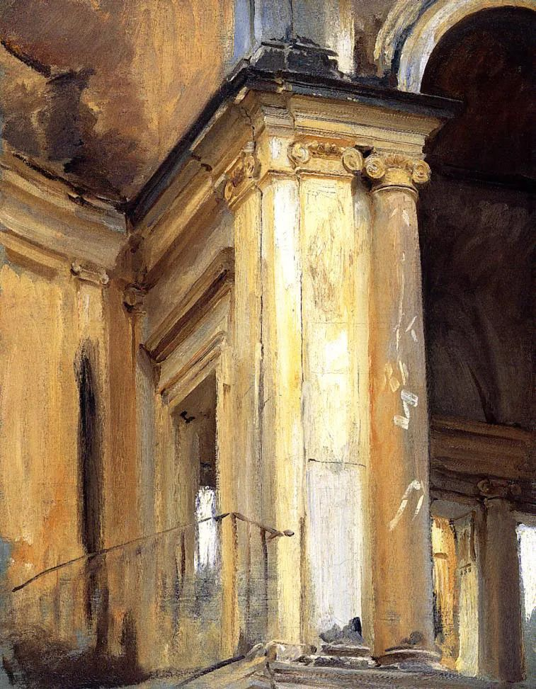 萨金特风景、人物、静物作品精选 117幅插图155