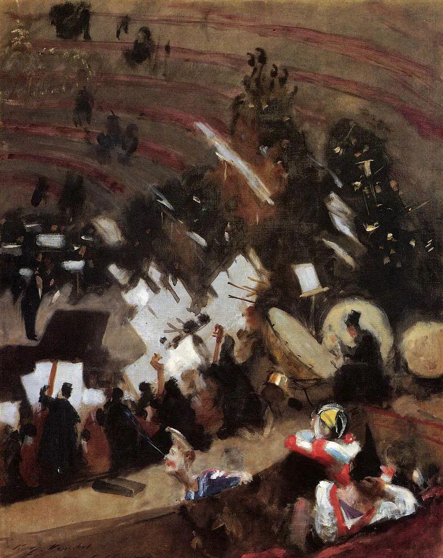 萨金特风景、人物、静物作品精选 117幅插图163