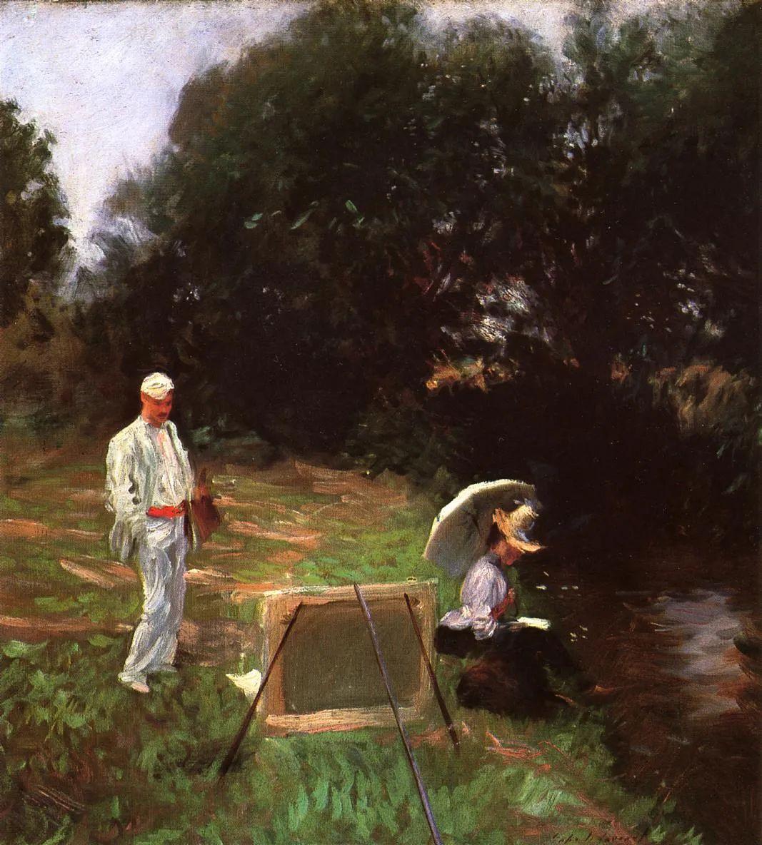 萨金特风景、人物、静物作品精选 117幅插图165