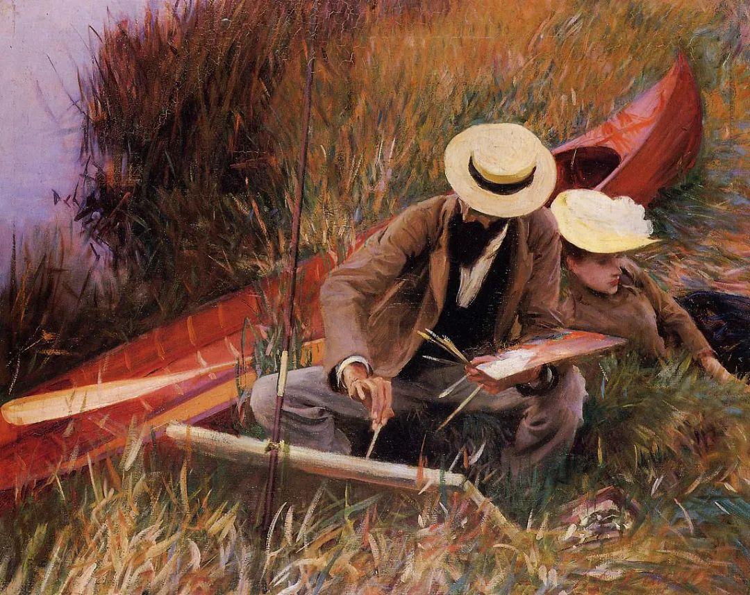萨金特风景、人物、静物作品精选 117幅插图171