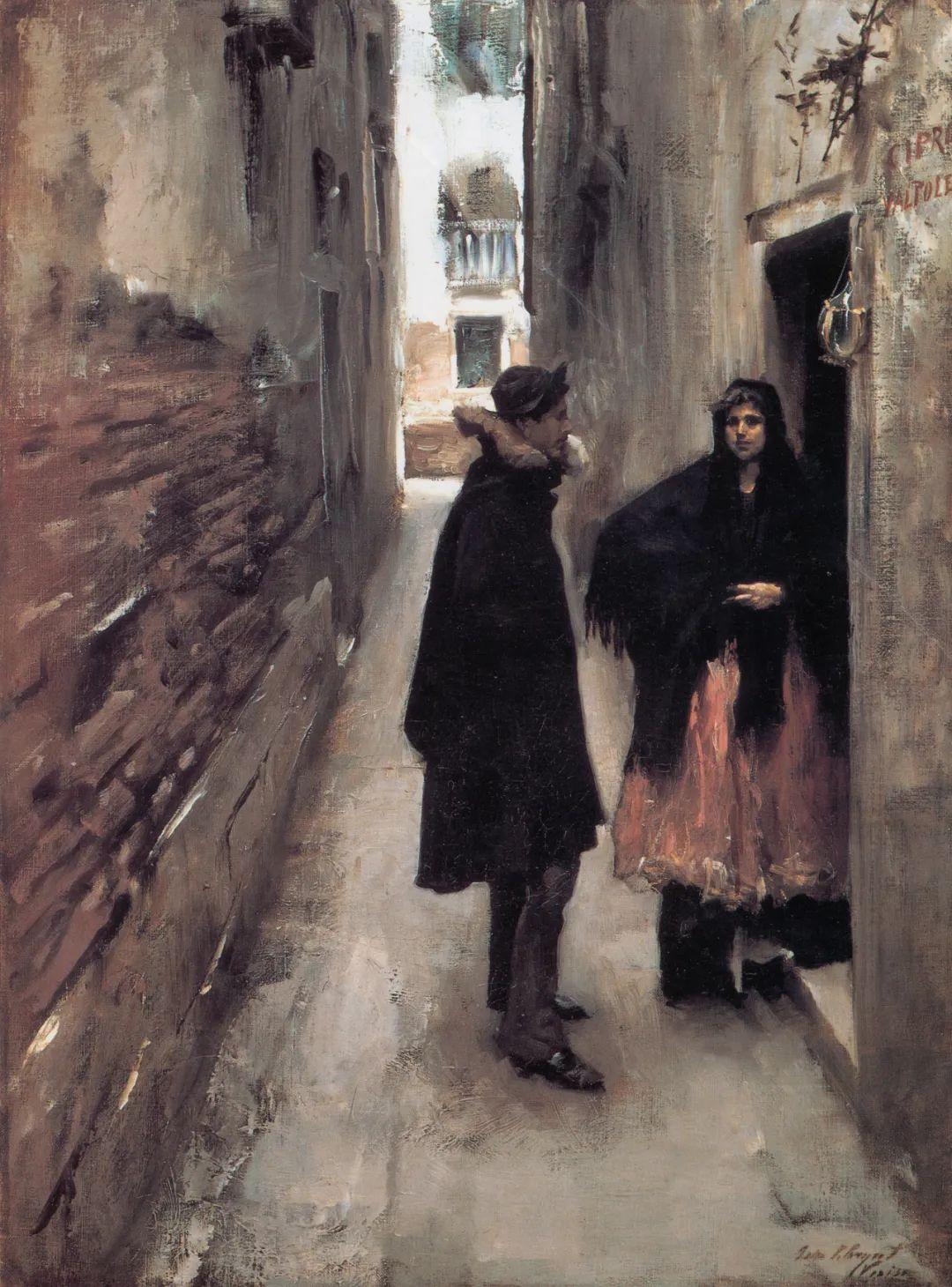 萨金特风景、人物、静物作品精选 117幅插图181