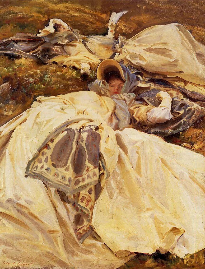 萨金特风景、人物、静物作品精选 117幅插图191
