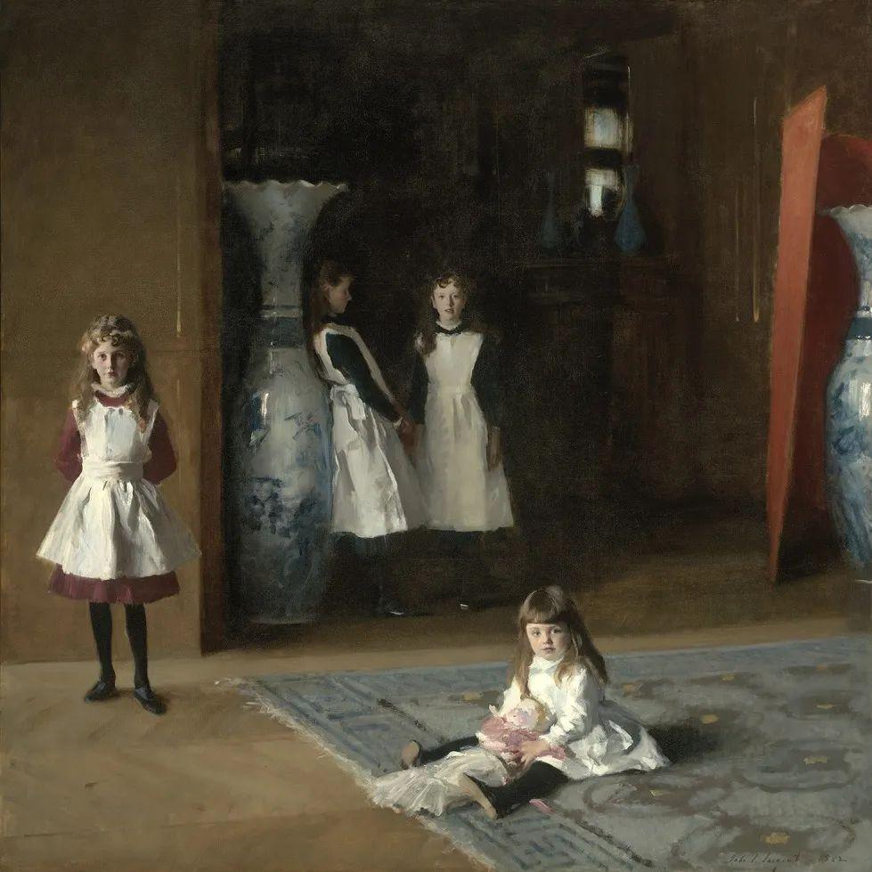 萨金特风景、人物、静物作品精选 117幅插图205