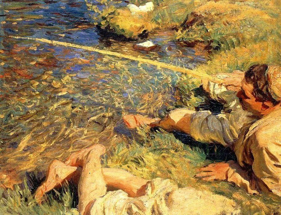 萨金特风景、人物、静物作品精选 117幅插图213