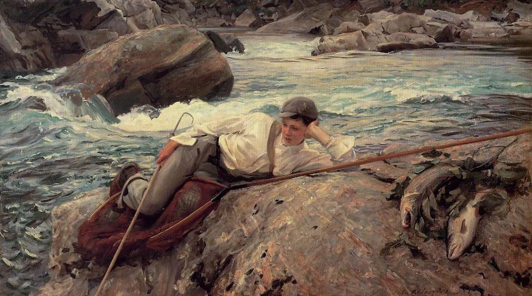 萨金特风景、人物、静物作品精选 117幅插图215