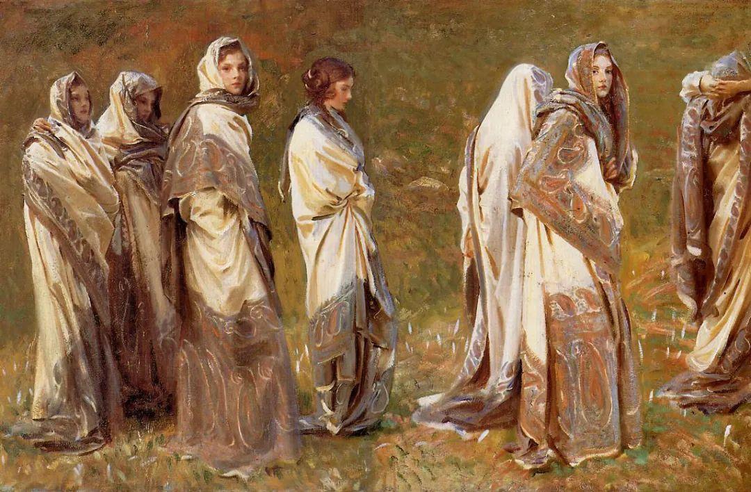萨金特风景、人物、静物作品精选 117幅插图219