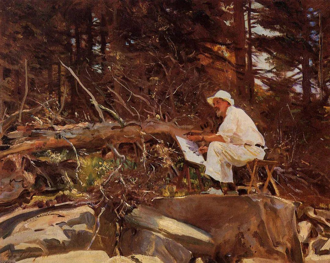 萨金特风景、人物、静物作品精选 117幅插图225