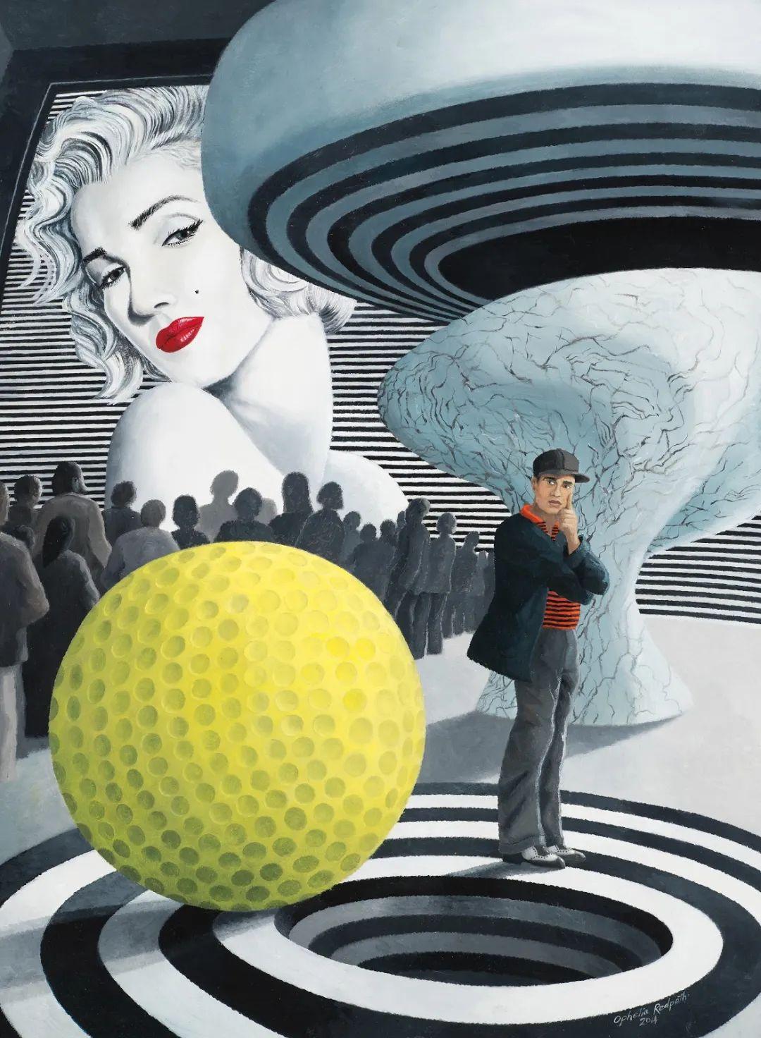 超现实主义 | 英国女画家Ophelia Redpath插图17