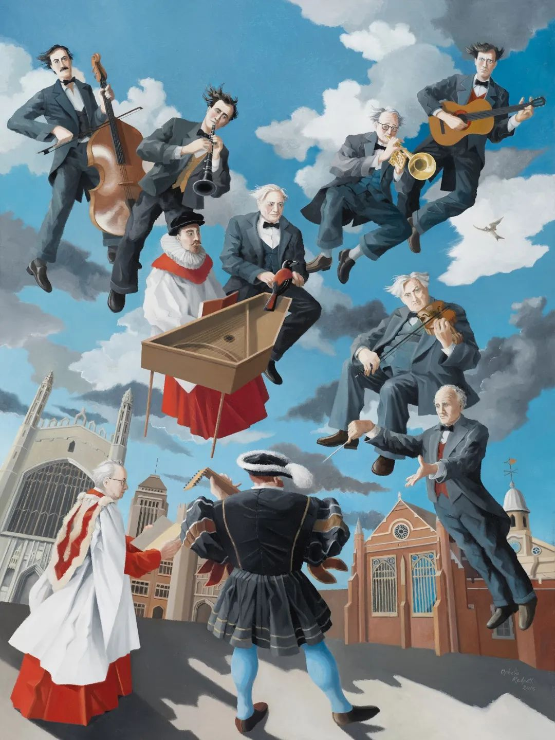 超现实主义 | 英国女画家Ophelia Redpath插图19