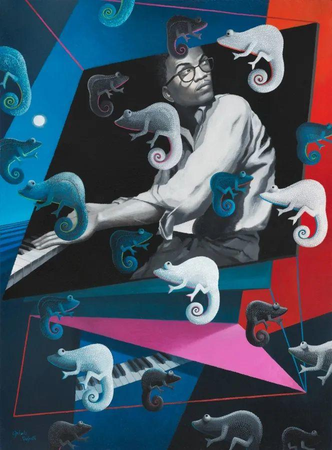 超现实主义 | 英国女画家Ophelia Redpath插图33