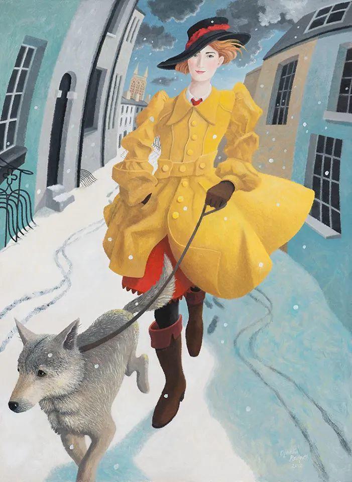 超现实主义 | 英国女画家Ophelia Redpath插图35