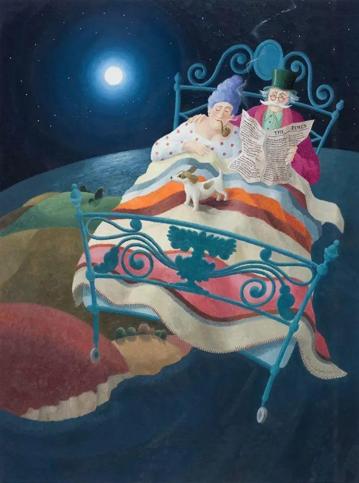 超现实主义 | 英国女画家Ophelia Redpath插图39