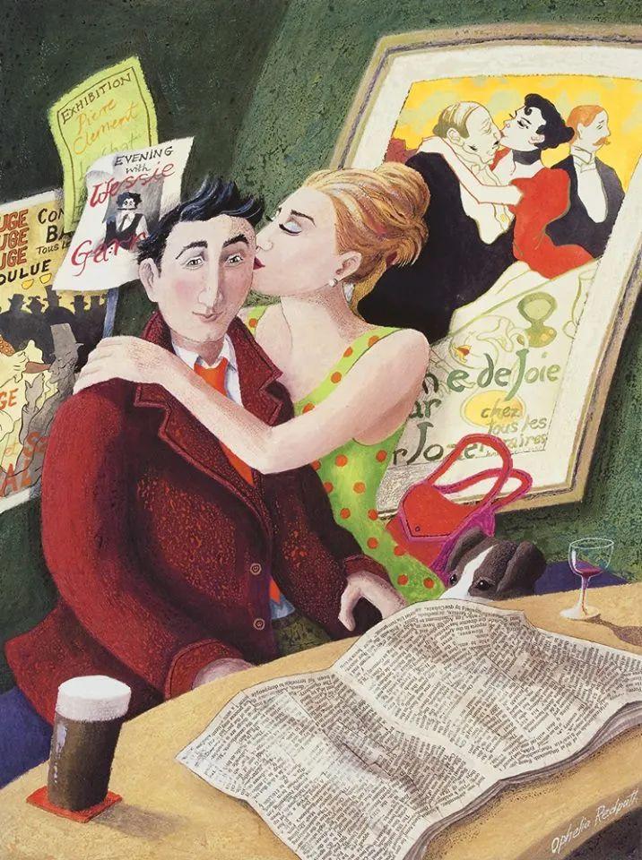 超现实主义 | 英国女画家Ophelia Redpath插图41