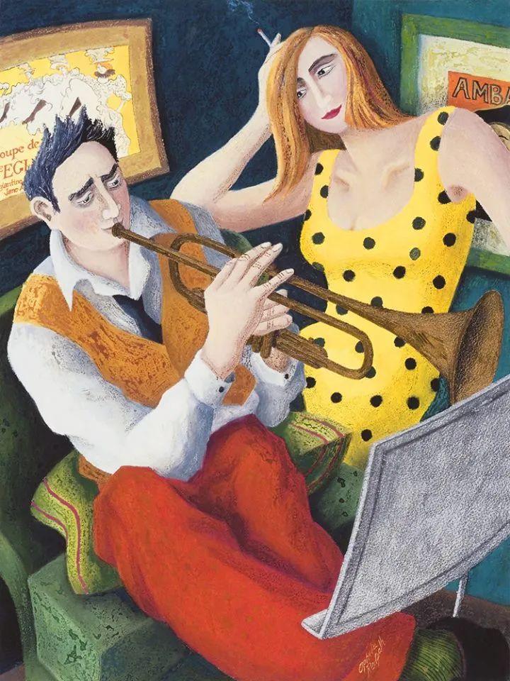 超现实主义 | 英国女画家Ophelia Redpath插图43