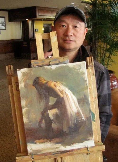油画大师吴兆铭,于色彩中寻求艺术的真谛!插图3
