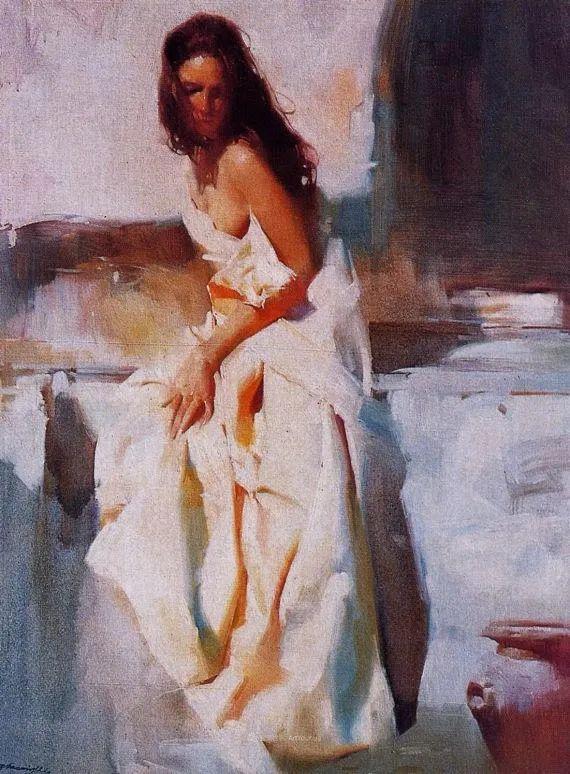 油画大师吴兆铭,于色彩中寻求艺术的真谛!插图133