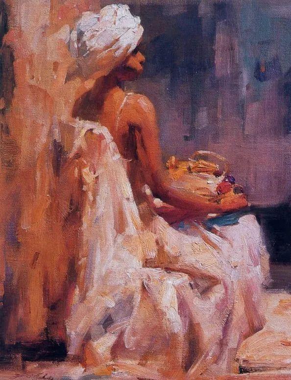 油画大师吴兆铭,于色彩中寻求艺术的真谛!插图135