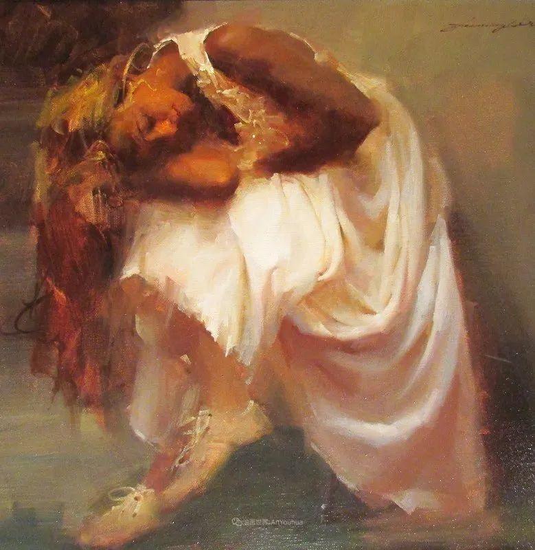 油画大师吴兆铭,于色彩中寻求艺术的真谛!插图137