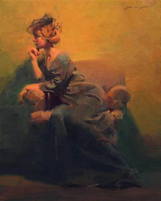 油画大师吴兆铭,于色彩中寻求艺术的真谛!插图145