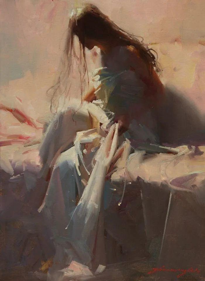 油画大师吴兆铭,于色彩中寻求艺术的真谛!插图149